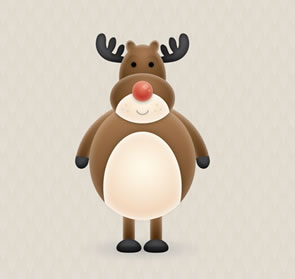 Create a Cute Vector Reindeer Character Illustrator Tutorial