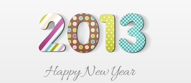 Create a 2013 Happy New Year Card Photoshop Tutorial