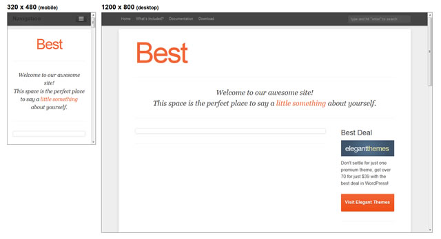 Best Theme minimal theme WordPress