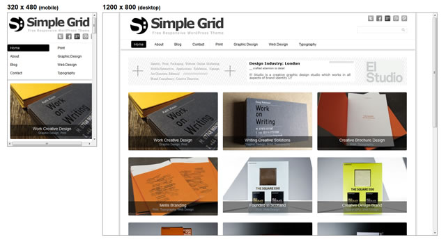 Simple Grid is a minimal and responive theme for WordPress