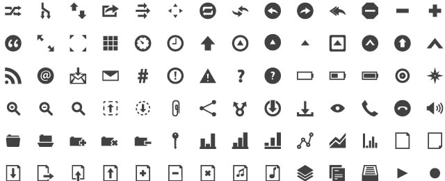 Pyconic free icon sets for designers