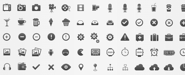 Icon Set free for designers