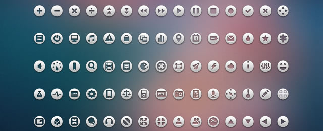 Loop Icons freebie for web design