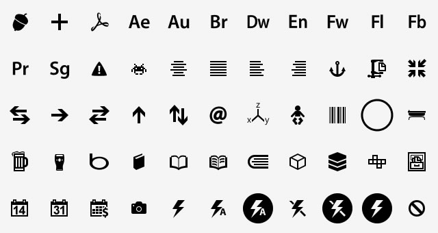 Modern UI Icons free icon sets for 2012 designers