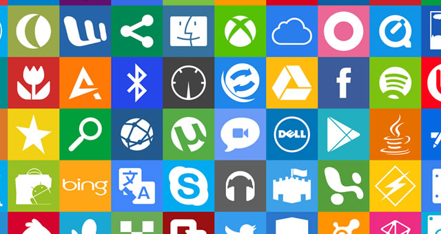 Metro UI Dock Icon Set free for 2012 designers