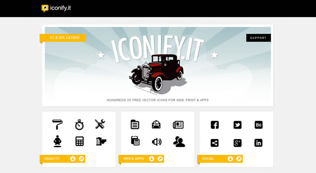 Iconify.it free for 2012 designers