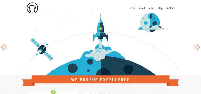 Envy Labs screenshot in favorite Web Designs 2012