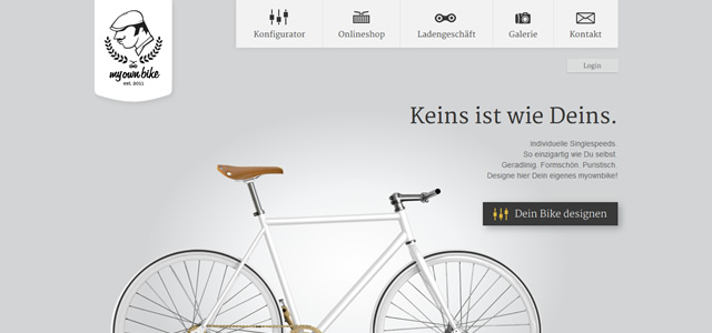 My Own Bike screenshot in favorite Designs from 2012