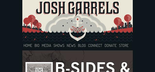 Josh Garrels screenshot in favorite Designs from 2012