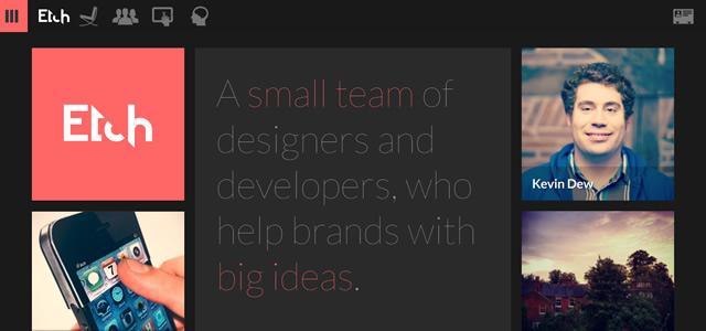Etch screenshot in favorite Designs from 2012