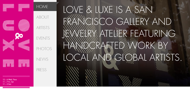 Love & Luxe screenshot in favorite Designs from 2012