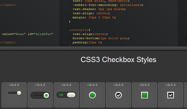 codepen open source checkboxes freebie css3