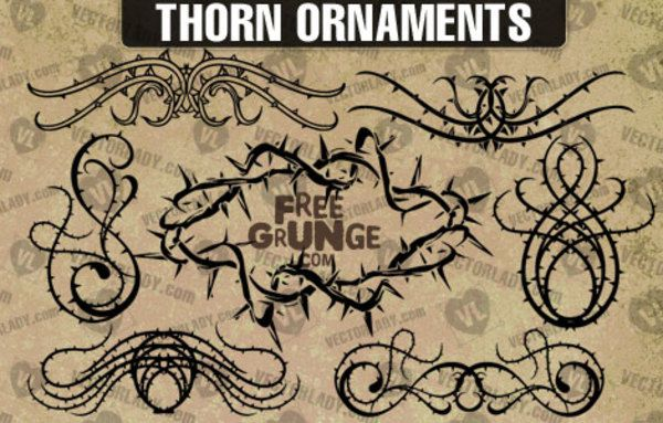 Thorn Ornaments