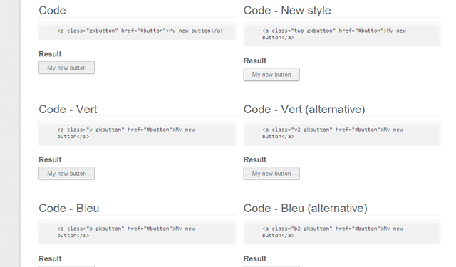 freebie buttons css3 code snippets for web developers