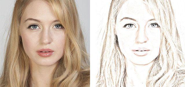 Color Sketch Photo Effect Tutorials in Photoshop