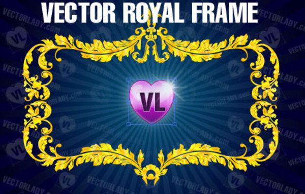Vector Royal Frame