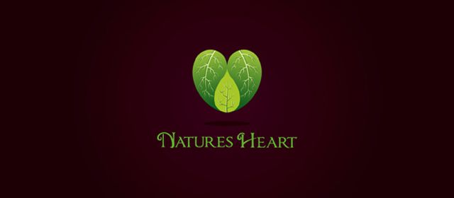 Natures Heart Logo example inspiration