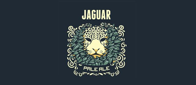 Jaguar Pale Ale Logo example inspiration