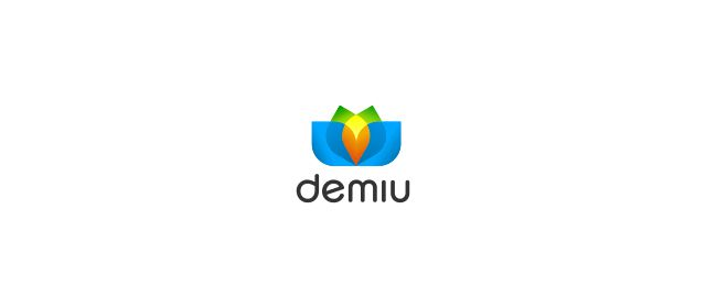 Demiu Logo beautiful symmetrical