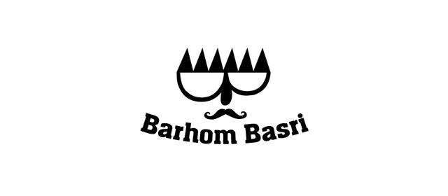 Barhom Basri Symmetrical Logo Design