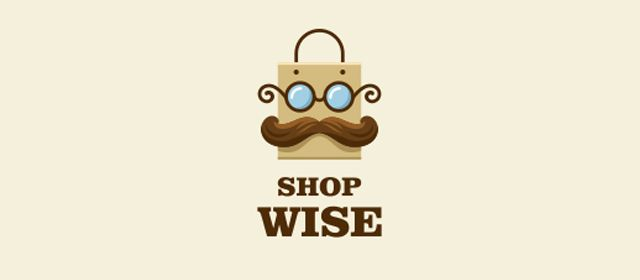 Shop Wise Logo example inspiration