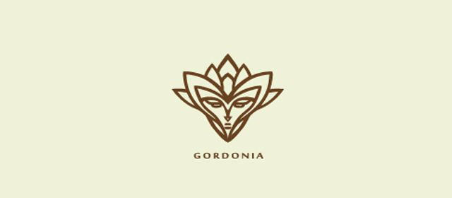 Gordonia Symmetrical Logo Design