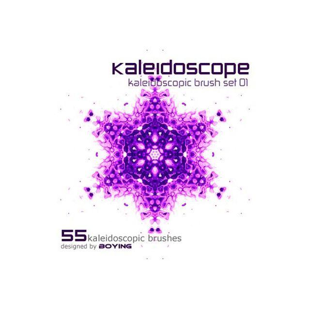 Kaleidoscope photoshop brushes free