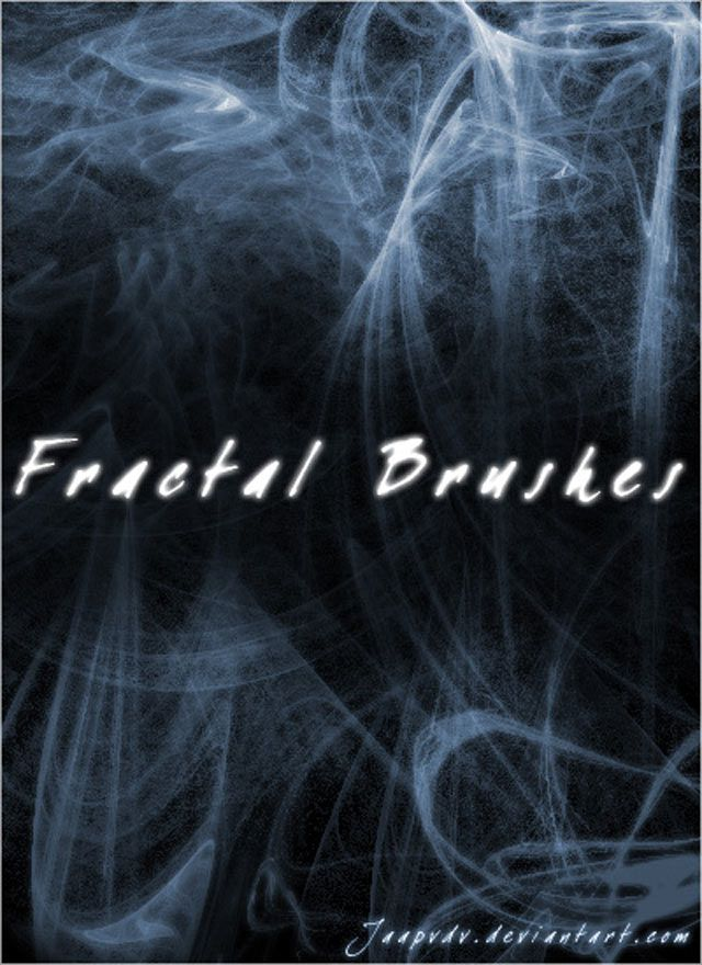 Fractal Brushes photoshop free