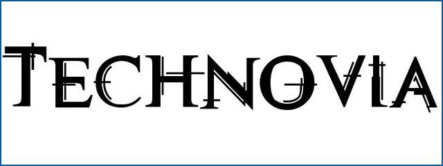 Technovia Free sci-fi fonts