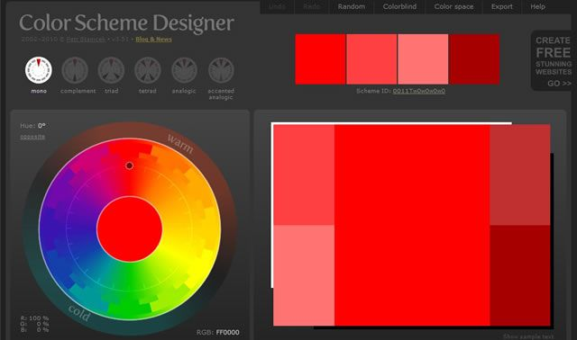 Color Scheme Designer Is A Great Tool To See Behavior When Combined