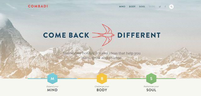 examples web design flat Combadi