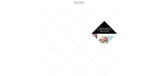Jessica Caldwell example web site original Non-Standard Geometry