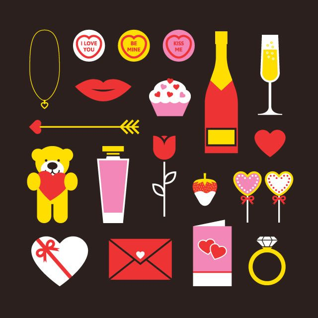 Free Valentines Vector Pack freebie