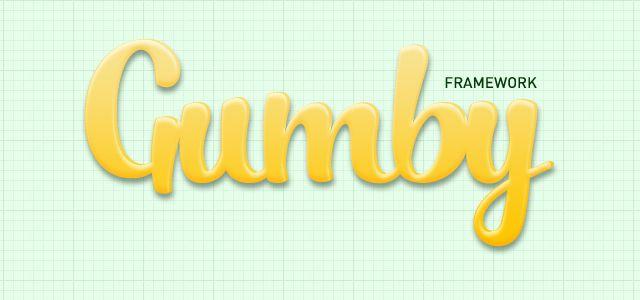 Gumby Framework - CSS User Interface UI Kit html css