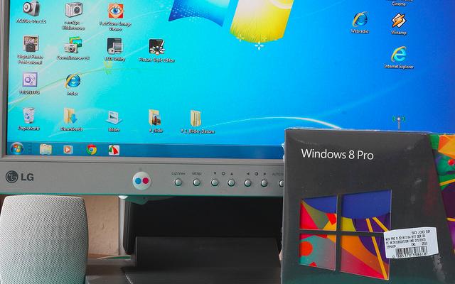 Windows 7 update upgrade to Windows 8