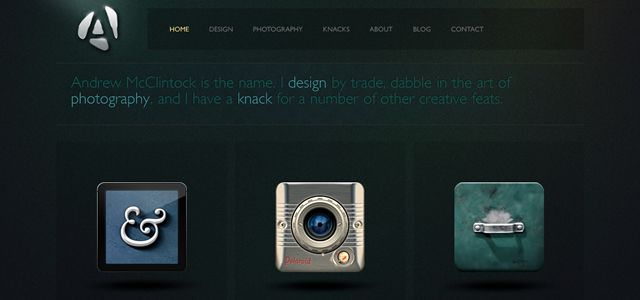 andrew mcclintock web design depth