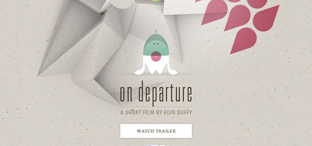 on departure creative depth web design