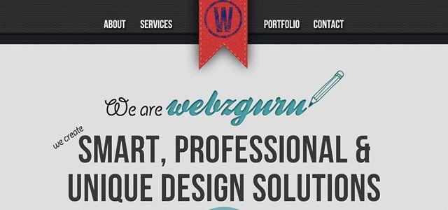 webz guru web design depth
