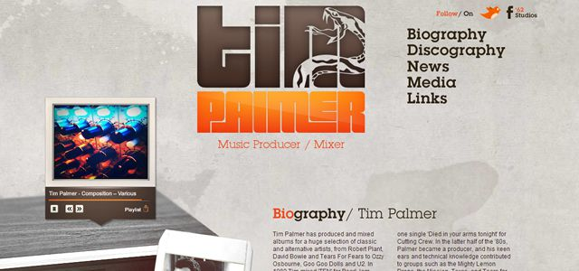 tim palmer web design depth