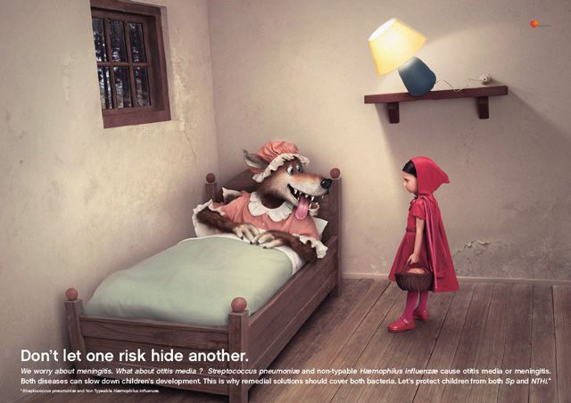 Glaxo Smith Kline digital Fairy Tale Ads inspired