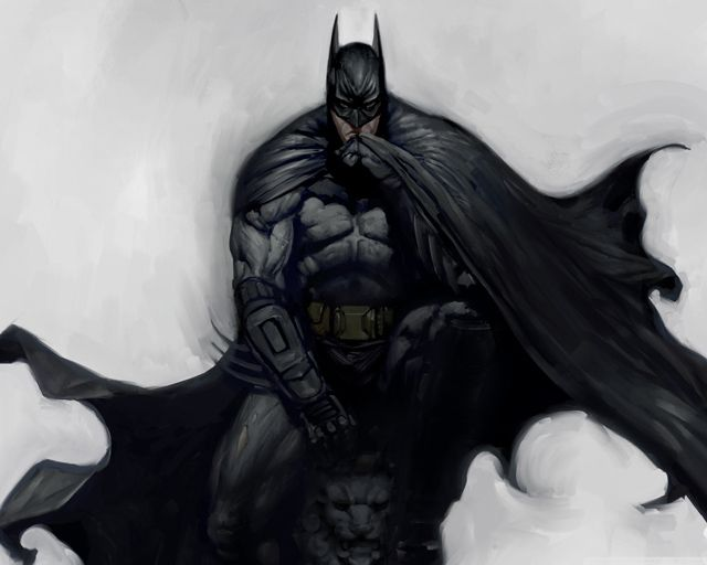 Batman Arkham City Artwork digital illustration
