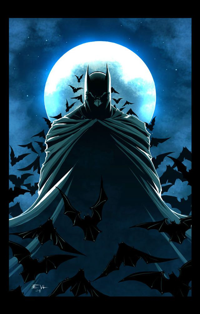Batman's Revenge digital illustration