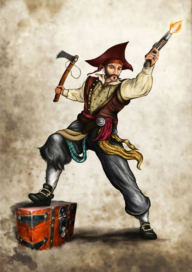 Pirate Quartermaster