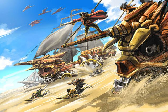 Desert Pirates