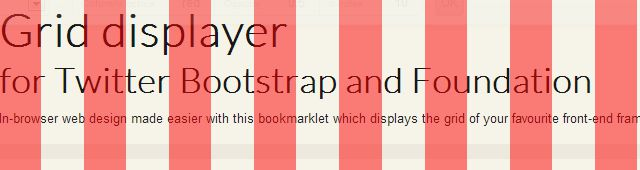 Grid Displayer Bookmarklet for Bootstrap