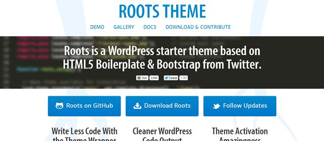 Roots WordPress Theme