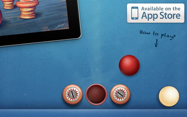 ios ipad app website layout landing page billiardapps fingerbilliards