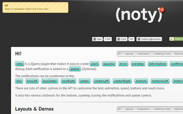 beta noty webpage open source github