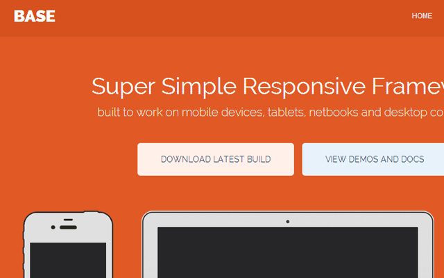 super simple honest Github webpage framework css3 responsive