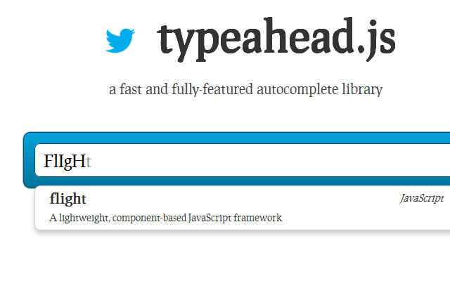Twitter typeahead github demo demo page